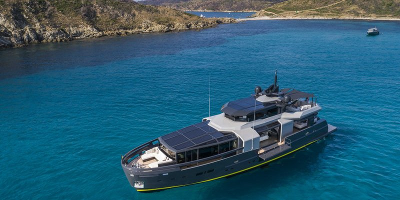 A105 TAKES ARCADIA YACHTS' TO A WHOLE NEW LEVEL