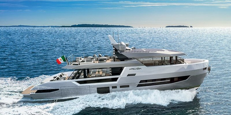 New Arcadia Sherpa XL ready for world debut at 2019 Cannes Yachting Festival