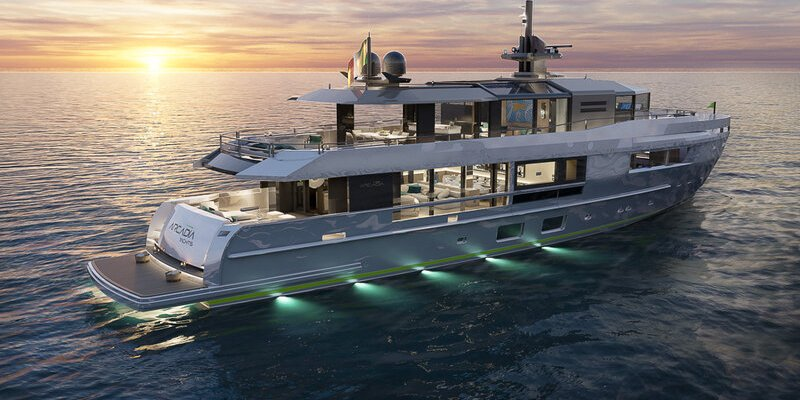 Fifth Arcadia A115 flagship superyacht sold